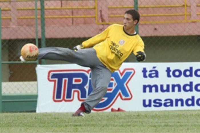 Goleiro Clériston tem passagens por algumas equipes do futebol goiano. (Foto: Divulgação)