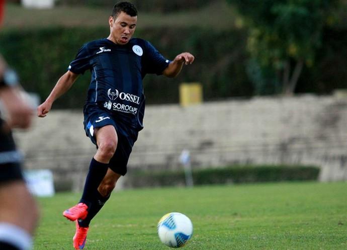 Leyrielton, atuou também no São Bento-SP. (Foto: Jesus Vicente)