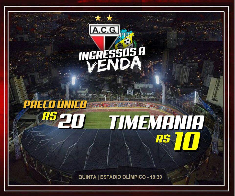 Atlético Goianiense x Iporá