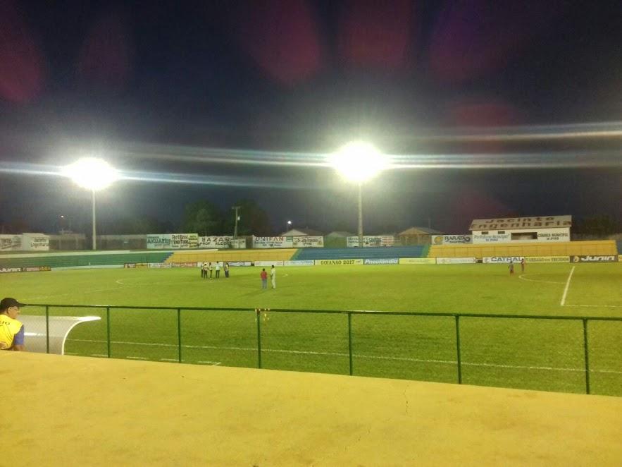 Prefeitura de iporá fará inauguração de iluminação do estádio.