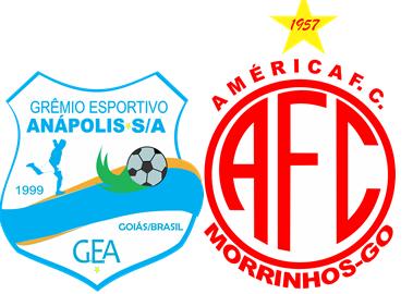 América X Grêmio Anápolis